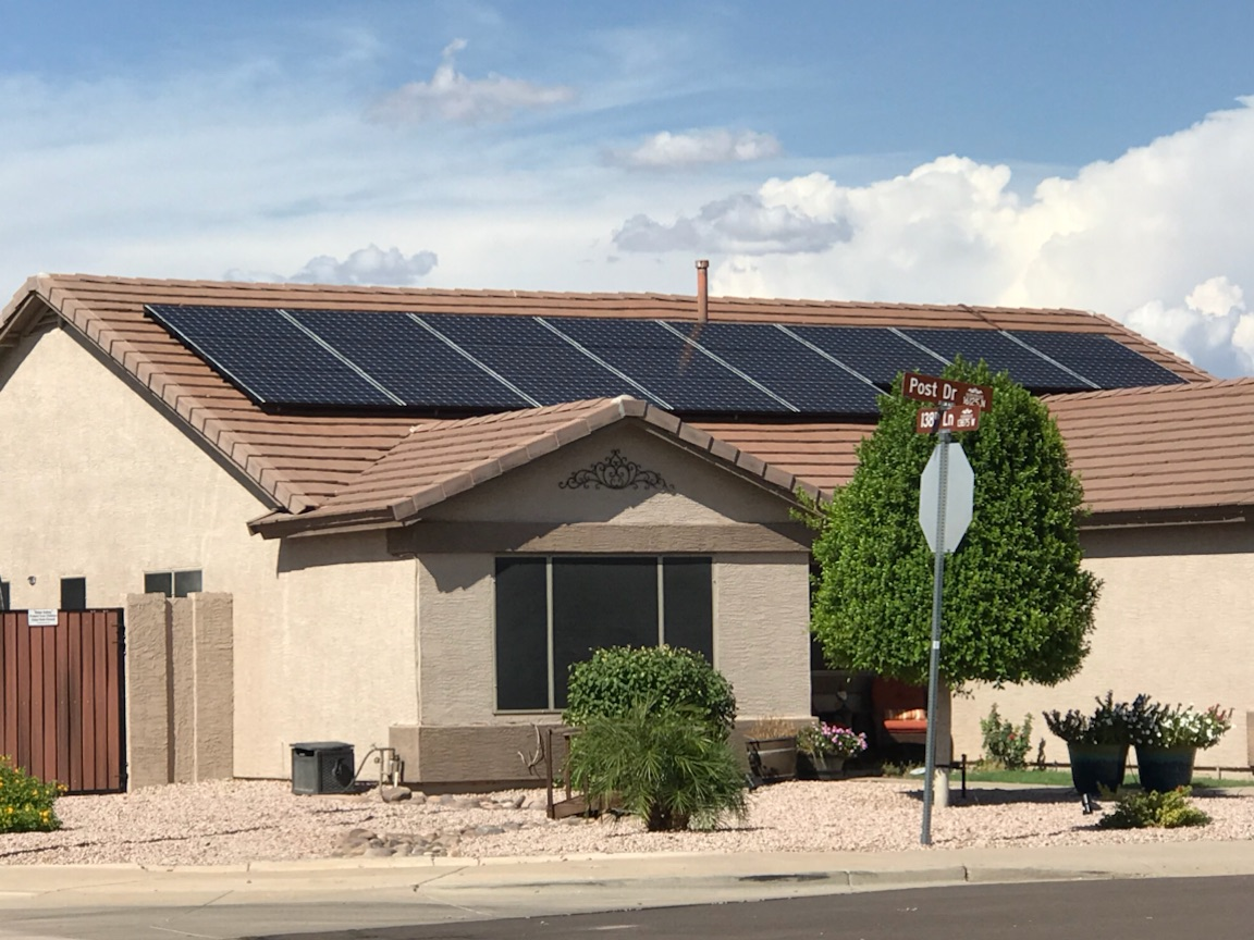 Roof Mounted Solar Clayco Electric